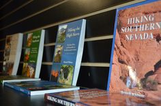 Hiking Books @ General Store @ Lee Canyon @ Las Vegas Ski and Snowboard Resort. Open May 25-Sep 2.