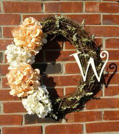 New wreath for the front door!