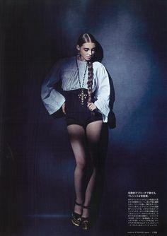 Dolce&Gabbana fw13 editorial Figaro Japan