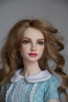 Весенняя Мила... / Авторская шарнирная кукла у нас дома / Бэйбики. Куклы фото. Одежда для кукол