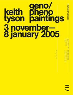 Spin — Haunch of Venison advertising in Posters