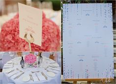 Pink & Blue Wedding...