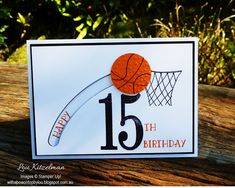 With a bow on top: Free throw for a 15th birthday.... Just Add Ink #323