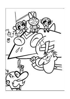 Disegni da colorare per bambini. Colorare e stampa Le Superchicche 3