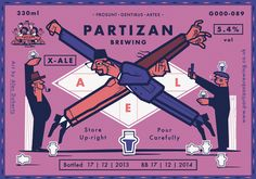 Alex Doherty for Partizan Brewing
