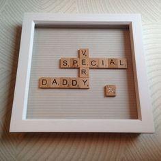 Special Daddy Box Frame