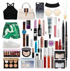 """""""Sin título #517"""" by frichu on Polyvore featuring moda, Dolce&Gabbana, Gucci, Marc by Marc Jacobs, Rosendahl, Victoria Beckham, Gorjana, Anastasia Beverly Hills y NARS Cosmetics"""
