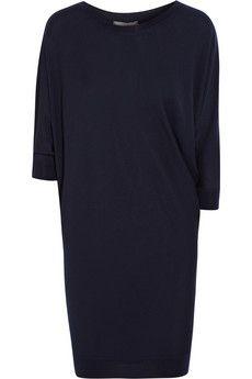 Alexander McQueen Asymmetric wool sweater mini dress | NET-A-PORTER