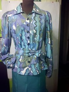 0d25cbd83feb27 One Of A KInd Princess Designer Blouse by MOTOWNSFLYFASHIONS