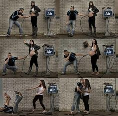 Unique and fun pregnancy photos Cute Pregnancy Photos, Pregnancy Humor, Pregnancy Progress Pictures, Pregnancy Timeline Photos, Pregnancy Stages, Pregnancy Test, Pregnancy Time Lapse, Documenting Pregnancy, Pregnancy Countdown
