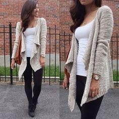 Fall fashion - comfy cardi - Want to save 50% - 90% on women's fashion? Visit http://www.ilovesavingcash.com.