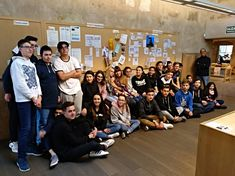 Visita y Formación con los alumnos del colegio de los Salesianos de Salamanca.11 de noviembre de 2017.