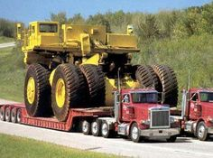Now that, is some heavy equipment transport Ship Your Car Now http://www.shipyourcarnow.com
