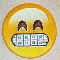 Emoji with braces