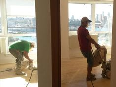 NYC Floor Pro inc projects - sanding east 96 st