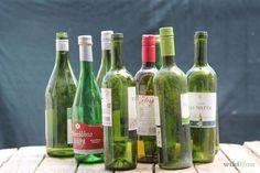 Make Wine Bottle Wind Chime  #winebottlecraft #diy #windchimes