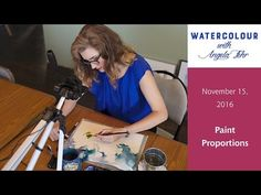 Angela Fehr live watercolour lesson November 15th - YouTube