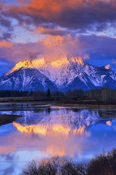 Grand Teton National Park - Mount Moran, Wyoming