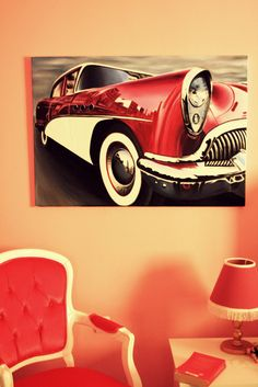 yağlıboya araba siparişi, old car