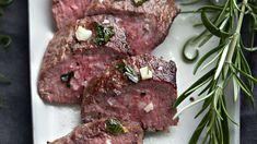 Kuumamarinoidut lampaanfileet - Yhteishyvä Beef Oxtail, Risotto, Steak, Cooking, Recipes, Food, Kitchen, Eten, Recipies