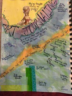SPLAT PAINT - ART Journaling: Art Journaling: Art Journaling