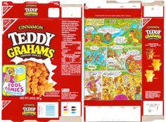 1992 Nabisco Cinnamon Teddy Grahams Box Comics by gregg_koenig, via Flickr