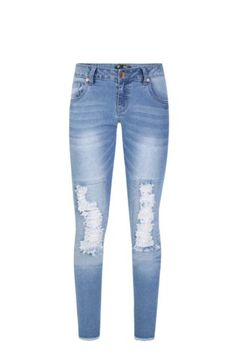 Ripped Skinny Jeans from Mr Price Ripped Skinny Jeans, Skinny Fit, Mr Price Clothing, Wardrobes, Denim Jeans, My Style, Lady, Fitness, Cotton
