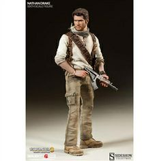Uncharted Nathan Drake Sixth Scale Figure - The Movie Store Gta 5, Video Game Art, Video Games, Diorama, Uncharted Series, Nathan Drake, Raiders Fans, Graphic Design Tutorials, Indiana Jones
