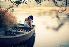 Solidão em um barco