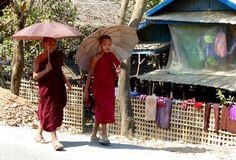 Asie 2015 (Birmanie et Inde): 16 février 2015 : Sittwe - Mrauk U