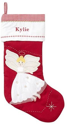 christmas merry Blonde stocking