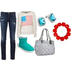 brigtht but cute., created by jmw2017.polyvore.com