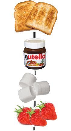 Love Nutella!  Sounds yummy!