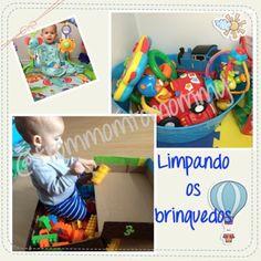 Dica do dia - FMTM Ensina...   É hora de lavar os brinquedos da criançada. Aqui em casa, os brinque...