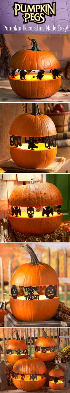 Get Halloween inspiration with DIY pumpkin decor and ideas!