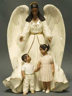 african american angel images | LENOX AFRICAN AMERICAN ANGEL COLLECTION at Replacements, Ltd