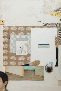 Bruno Kurru   sistema de(s) controle  2012  acrílica e resina sobre tela  120 x 80 cm