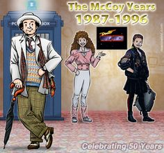 The Seventh Doctor and Companions - Melanie and Ace