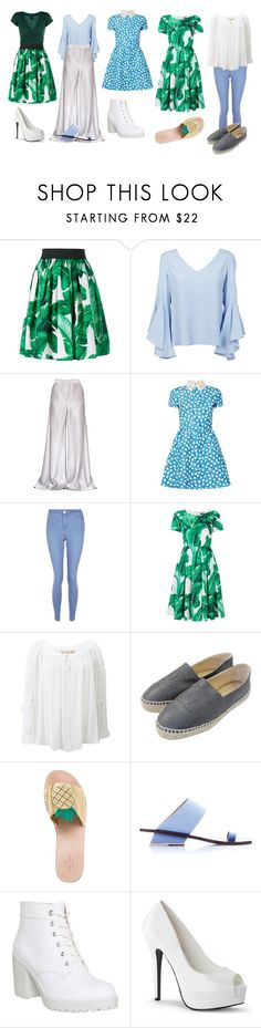 """""""School Teacher week"""" by baeisme ❤ liked on Polyvore featuring Dolce&Gabbana, Dondup, Etro, Valentino, New Look, Michael Kors, Chanel, Kate Spade, Abcense and Vagabond"""