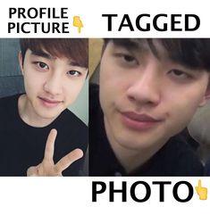 Do Kyungsoo, Lu Han and 182 others like this Kyungsoo, Chanyeol, Exo, Tag Photo, Picture Tag, Tagalog, Chanbaek, English, Reading