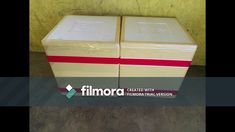 Created with Wondershare Filmora Decorative Boxes, Container, Create, Decorative Storage Boxes