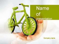 Green Bicycle PowerPoint Template - YouTube http://youtu.be/2EUcK6XLBGs