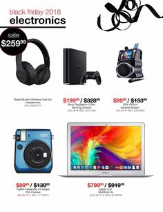 Black Friday News, Electronics Sale, Instax Film, Karaoke System, Film Camera, Fujifilm Instax, Coupons, Ads, Check