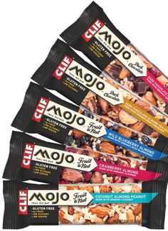 Clif Mojo snack bars These are the best!