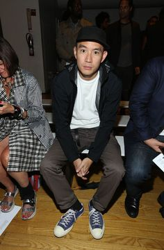 Eugene Tong Pictures - Pyer Moss - Front Row - Spring 2016 New York Fashion Week - Zimbio