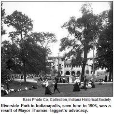 Image from http://hoosierhistorylive.info/images/Riverside-Park-shelterhouse-with-visitors-1906.png.