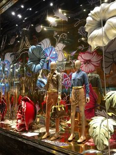 LK By Lincoln Keung - GUCCI Window Display - The LANDMARK - Hong Kong