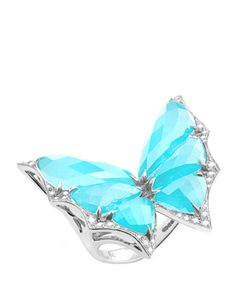 Fly+By+Night+Small+Crystal+Haze+Ring,+Size+7+by+Stephen+Webster+at+Neiman+Marcus.