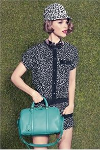 Louis Vuitton 2012 cruise collection... Gott have it cause it's TEAL!