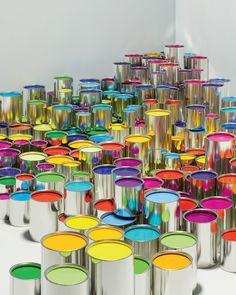 Rainbow paint | sarahmaystudio